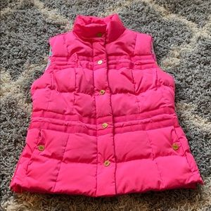 Lilly Pulitzer Pink Vest - XS